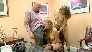 Sucking and fucking fat cock for money