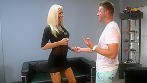 This MILF came in to check the car out and I fucked her