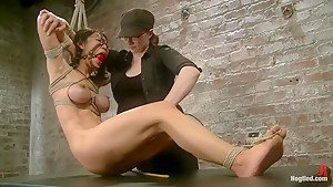 Bitch Bound In Bag & Extreme Spread Eagle Special!