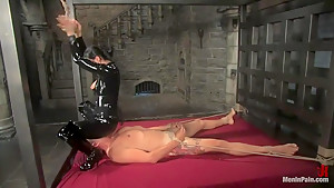 Euro Bitch Dominates worthless slave boy