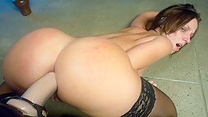Best anal, fetish adult movie with amazing pornstars Mark Davis, Amber Rayne and Jada Stevens from Everythingbutt