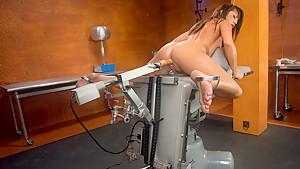 Horny fetish adult clip with fabulous pornstars Chanel Preston, Alexa Jaymes and Natasha Nice from Fuckingmachines