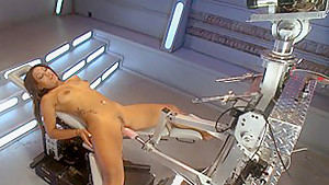 Horny fetish adult movie with amazing pornstar Leilani Leeane from Fuckingmachines