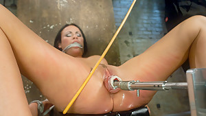 Hottest fetish sex movie with amazing pornstar Ashli Ames from Fuckingmachines