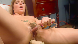 Best fetish sex clip with crazy pornstar Lexi Love from Fuckingmachines
