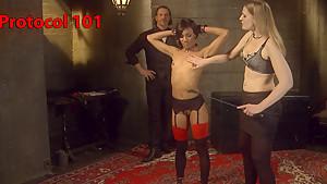 Best fetish, public sex video with hottest pornstars Maestro Stefanos, Nikki Darling and Shay Tiziano from Kinkuniversity