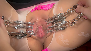 Exotic fetish xxx video with hottest pornstars Vivi Marie and Mz Berlin from Whippedass