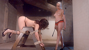 Fabulous fetish adult scene with exotic pornstars Lorelei Lee and Alicia Tease from Whippedass