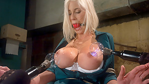 Amazing blonde, fetish xxx movie with hottest pornstars Princess Donna Dolore, Puma Swede and Isis Love from Wiredpussy