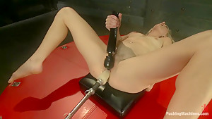 Exotic fetish, milf adult clip with best pornstar Bella Bends from Fuckingmachines