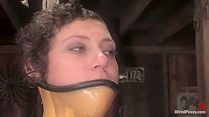 Horny big tits, fetish xxx movie with best pornstar from Wiredpussy