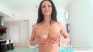 Doggy style makes Ava Addams feel horny from desire and suck as mad