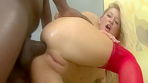 Fabulous pornstar Paris Gables in crazy anal, interracial sex movie