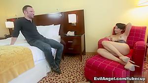Exotic pornstars Dana Vespoli, Alex Legend in Crazy Asian, Anal sex scene