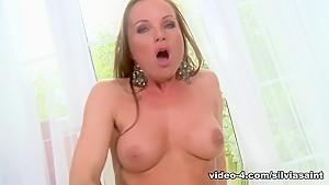 Fabulous pornstar in Crazy Solo Girl, Redhead porn scene