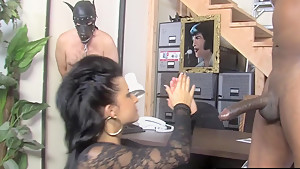 A BBC For HotWife Tori Lux While CCuckold Watching