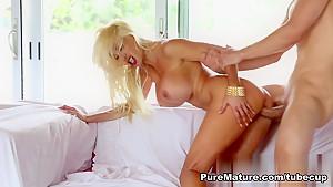 Horny pornstar Puma Swede in Amazing Big Tits, Blonde xxx video