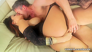 Horny pornstars Erik Everhard, Mandy Muse, Mick Blue in Crazy Latina, Big Tits adult scene