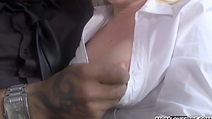 Dee Siren and her stepdaughter Cherish Red share a BBC