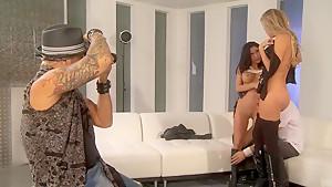 Amazing pornstar Aleksa Nicole and Samantha Saint fuck hard