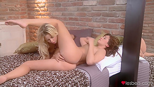 Amazing pornstars Tiffany Walker, Tess in Hottest Fingering, Lesbian xxx clip