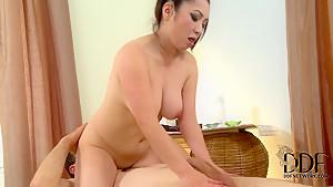 Sensual massage and more. Staring Midori Tanaka.