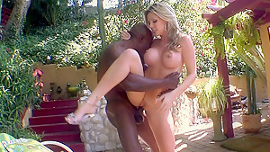 Courtney Cummz takes big black cock