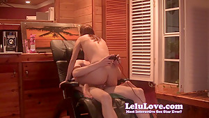 Lelu lovefucking away from video games - 1 part 6