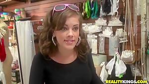 Cute Katie Cummings is into dirty fun with Jordan Ash