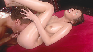 Oily Sex Session