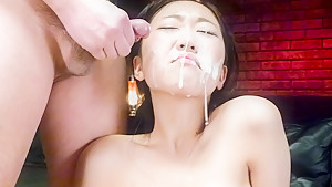 Incredible Japanese chick Akina Nakahara in Exotic JAV uncensored Lingerie movie
