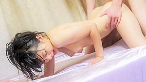 Fabulous Japanese chick Konoha in Incredible JAV uncensored Creampie video