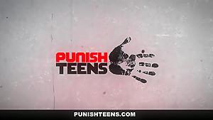 PunishTeens - Alina West Gagged & Brutally Fucked
