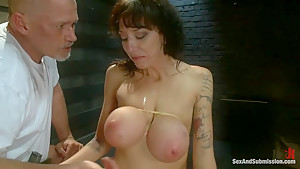 The Mechanic: Huge Natural Tits MILF Fucked and Dominated!