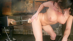 Amazing fetish porn scene with crazy pornstar Tory Lane from Fuckingmachines