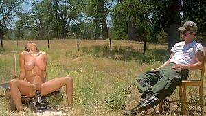Horny fetish xxx scene with exotic pornstar Charley Chase from Fuckingmachines
