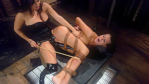 Fabulous fetish, anal xxx scene with amazing pornstars Isis Love and Sea J Raw from Whippedass