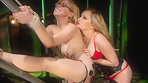 Exotic bdsm, lesbian porn video with crazy pornstars Penny Pax and Aiden Starr from Wiredpussy