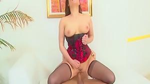 Best pornstar London Keyes in incredible cunnilingus, facial porn movie