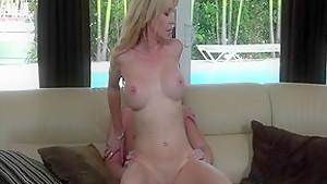 Exotic pornstar Desi Dalton in amazing cunnilingus, blowjob adult clip