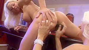 Hottest pornstars Rhyse Richards and Rhylee Richards in crazy cunnilingus, lesbian adult video