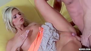 Czech chick Mia Angel fucks with her boyfriend