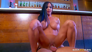 MILF Brunette Jewels Jade Rides A Dick She Sucked Stiff