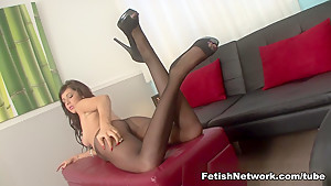 Amazing pornstar Layla Lopez in Crazy Stockings, Brunette sex scene