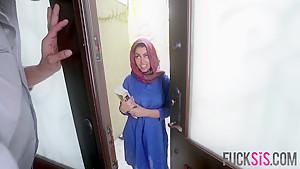 Ada Sanchez in Cream Filled Middle Eastern Cutie