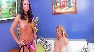 Fabulous pornstars Zoe Britton, Rachel Love and Mai Ly in best brunette, asian adult clip