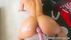 Fabulous pornstar Abby Lee Brazil in Incredible Blowjob, Pornstars adult scene