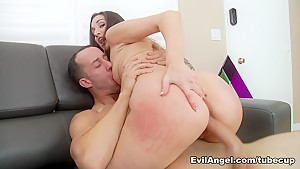 Incredible pornstars Holly Heart, Chris Strokes, Bradley Remington in Fabulous Redhead, Anal adult clip