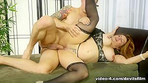 Exotic pornstar Chad Alva in Fabulous Stockings, BBW sex video