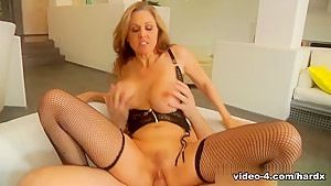 Crazy pornstars Erik Everhard, Brooke Wylde, Julia Ann in Exotic Big Ass, Stockings porn scene
